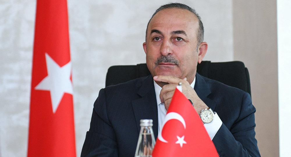 Глава МИД Турции Мевлют Чавушоглу.