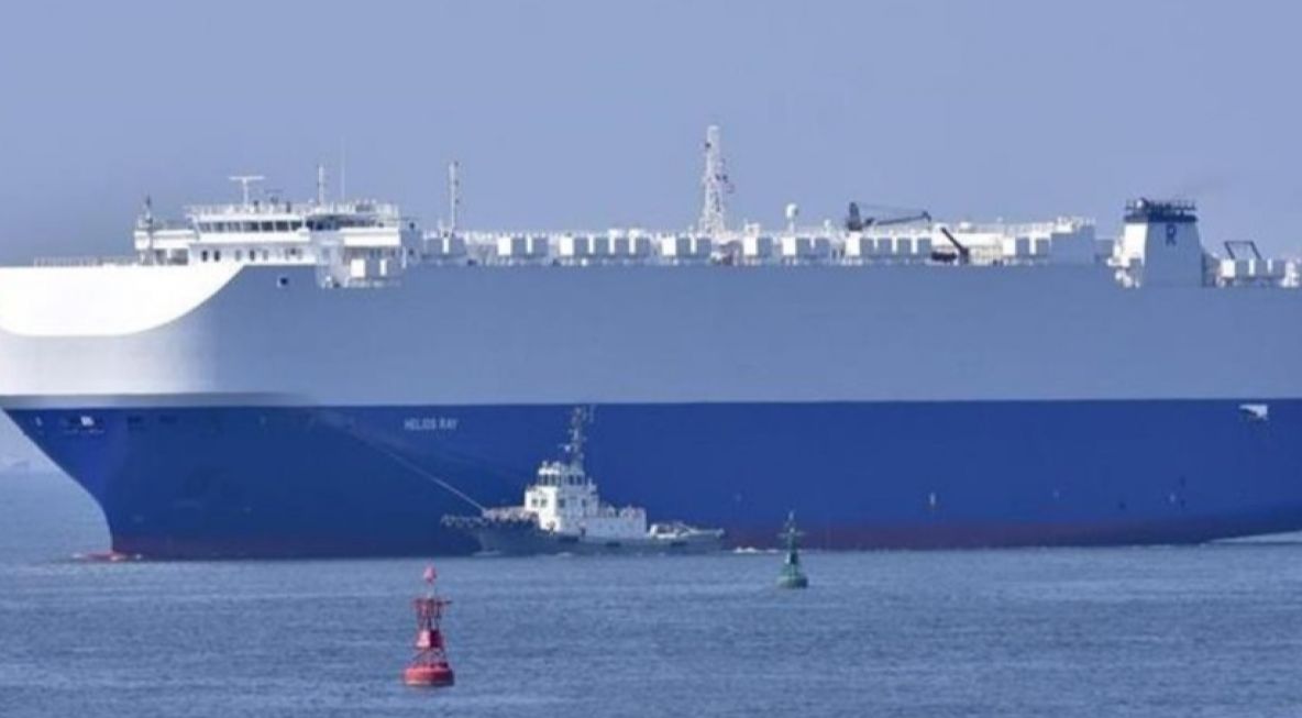 Атакованное судно