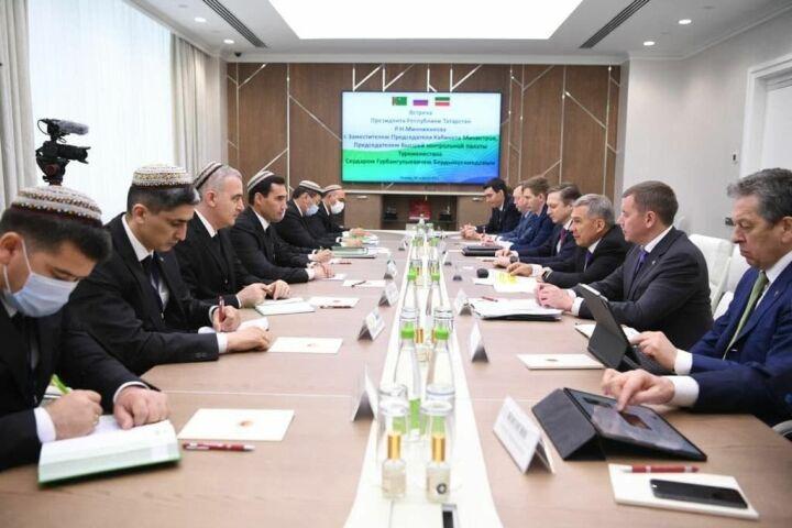 Переговоры в Казани (Фото: пресс-служба президента РТ)