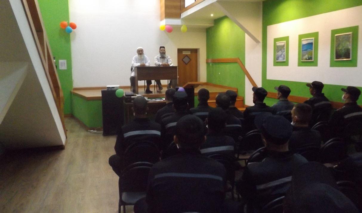 Верхотурскую колонию ИК-53 посетили представители Центрального муфтията