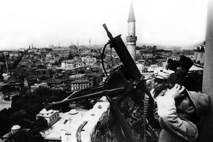Такими средствами противовоздушной обороны располагала турецкая армия во время Второй мировой войны