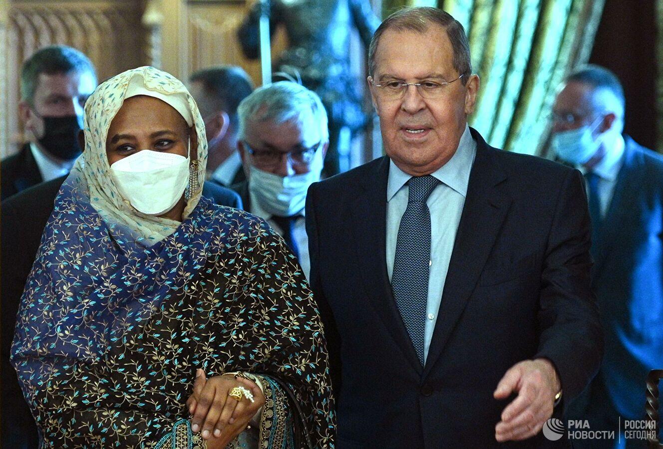 Главы МИД РФ и Судана