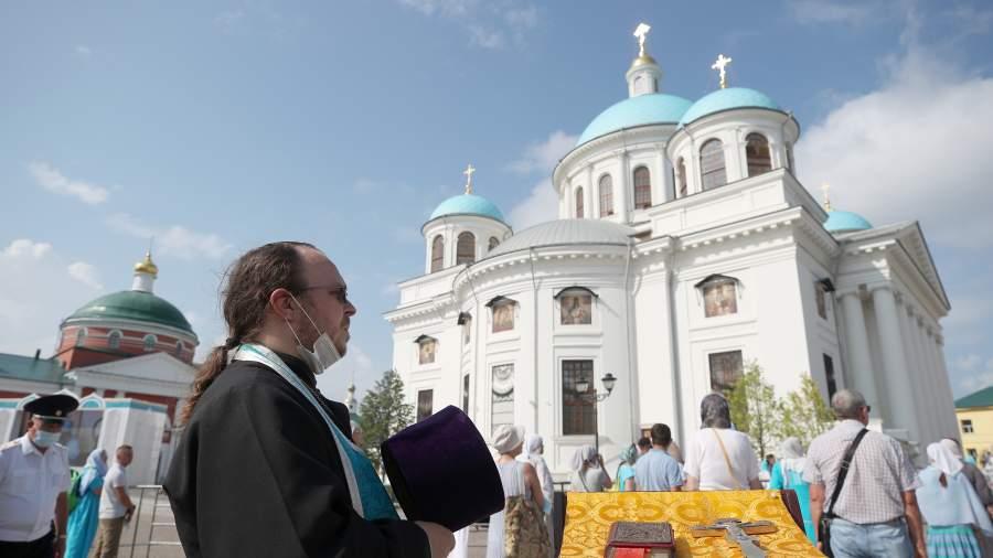 Возрожденный собор в Казани
