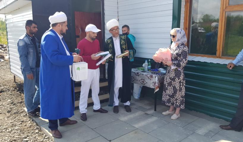 Открытие мечети в п. Бисерть