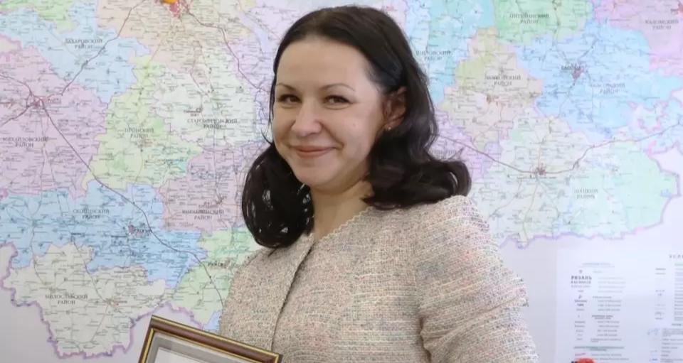 Рязанский министр Жанна Фомина