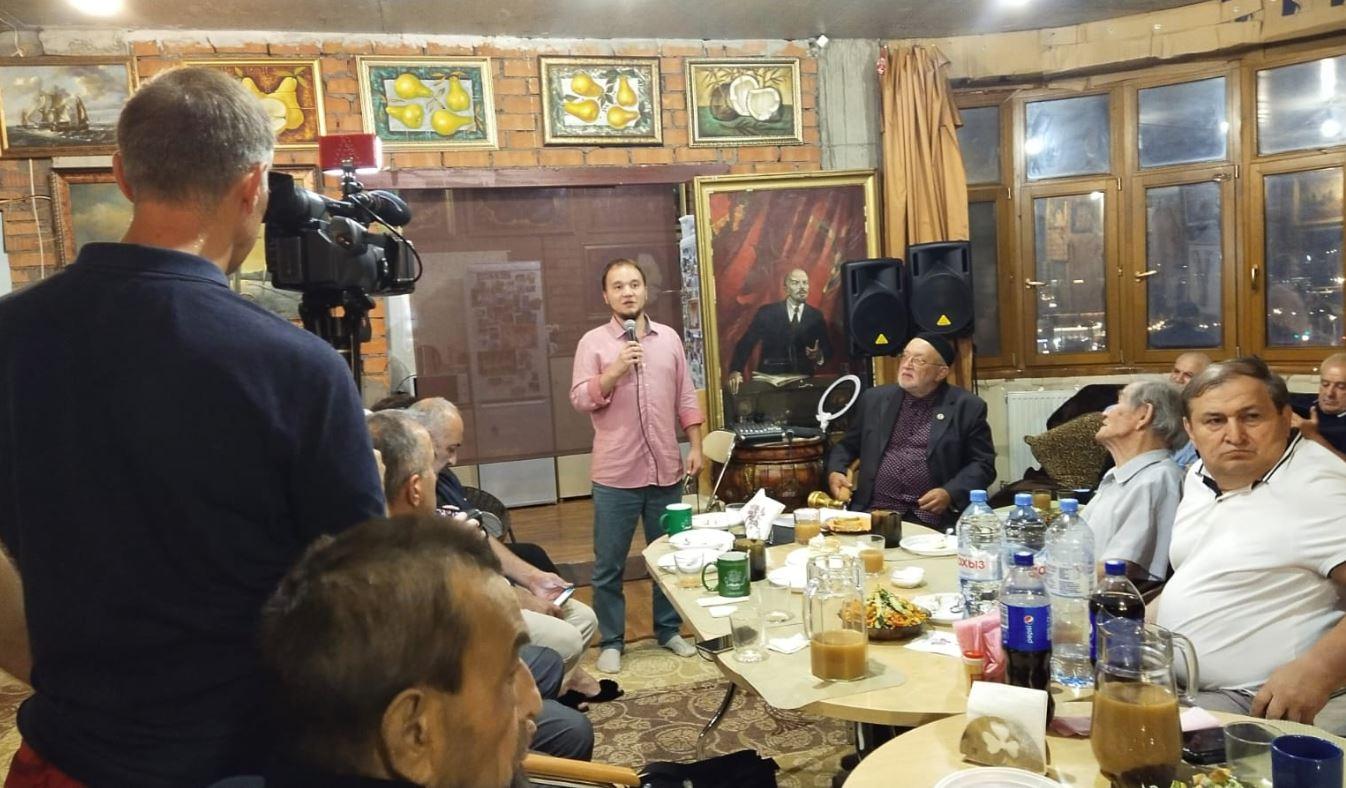 На вечере посвященном Орхан Джемалю