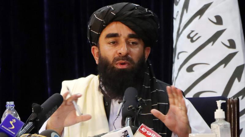 Официальный представитель «Талибана» Забихулла Муджахида. Фото: ©REUTERS