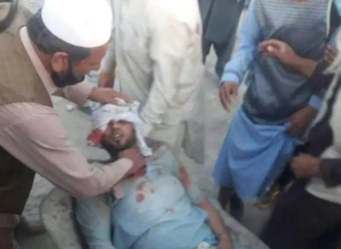 На месте взрыва у аэропорта в Кабуле
