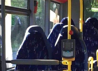 Фотография в автобусе