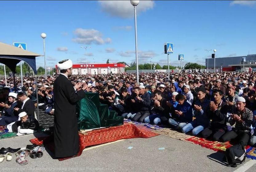 Мусульмане Рязани на Ураза-байрам
