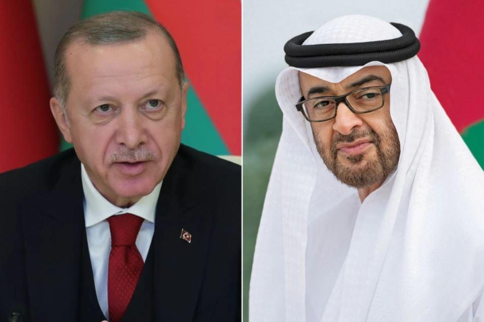 Лидеры Турции и ОАЭ