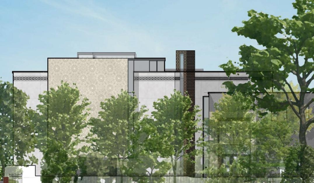 Визуализация проекта будущей мечети