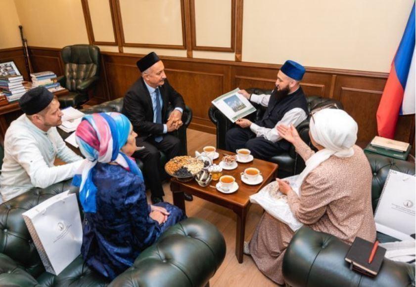 Иркутская делегация у муфтия Татарстана