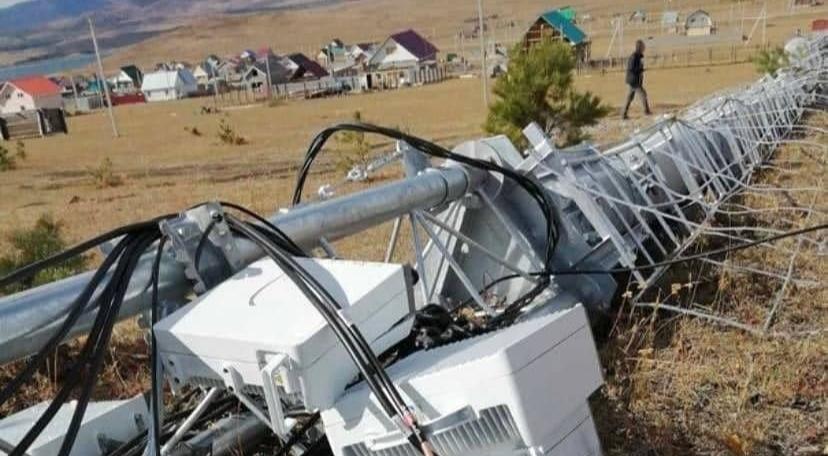 Жители Башкортостана снесли вышку сотовой связи из-за негатива вокруг 5G