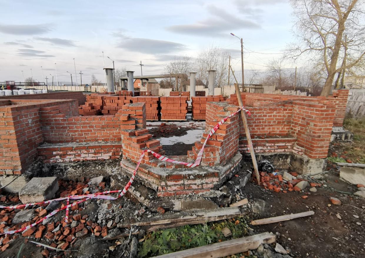 В г. Краснотурьинск Свердловской области идет строительство мечети