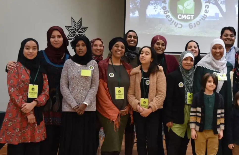 Участники «зеленой команды»